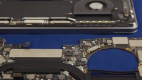 Repare un ordenador portátil almacen de video