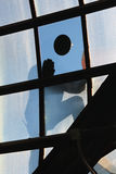 reparera fönstret Fotografering för Bildbyråer