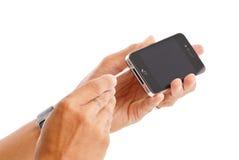 reparera för iphone som är ditt royaltyfria bilder
