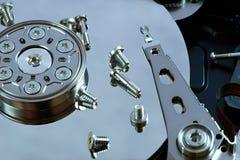 Reparera hårddisken arkivfoto