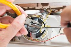 Reparera klockaradion Royaltyfri Fotografi