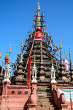 Reparera pagoden Arkivfoto