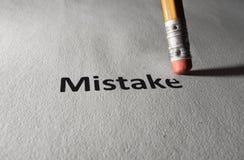 Reparieren eines Fehlers Stockbild