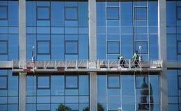 Reparieren Sie Arbeit draußen Stockfotografie