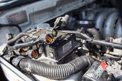 Reparieren Sie Auto Stockbild