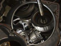 Reparieren Sie automatisches Getriebe Stockfoto