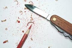 Reparieren Sie Bleistift Stockfoto