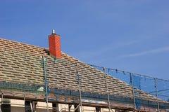 Reparieren Sie ein Dach Stockbilder