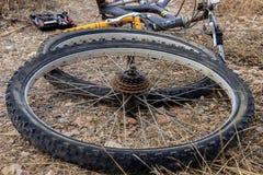 Reparieren Sie Fahrrad Lizenzfreie Stockfotos