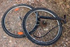 Reparieren Sie Fahrrad Lizenzfreies Stockfoto