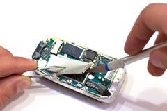 Reparieren Sie G-/Mtelefon Stockfotografie