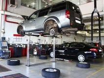 Reparieren Sie Garage stockfoto
