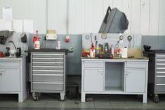 Reparieren Sie Garage lizenzfreie stockbilder