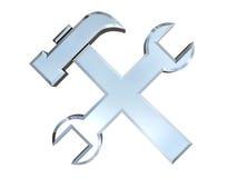 Reparieren Sie Ikone Lizenzfreies Stockbild