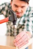 Reparieren Sie nach Hause Lizenzfreie Stockfotos