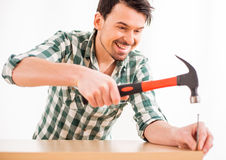 Reparieren Sie nach Hause Lizenzfreies Stockbild
