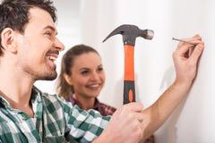 Reparieren Sie nach Hause Stockfoto
