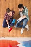 Reparieren Sie nach Hause Stockbilder