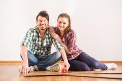 Reparieren Sie nach Hause stockfotos