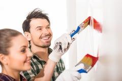 Reparieren Sie nach Hause Stockbild
