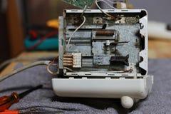 Reparieren Sie Toaster Lizenzfreies Stockbild