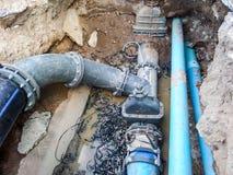 Reparieren Sie Wassersystem Lizenzfreie Stockbilder