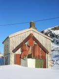 Reparierten Lofotens Haus Stockfotos