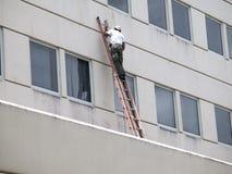 Reparing un edificio Foto de archivo