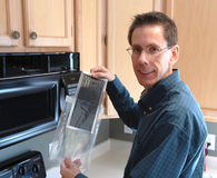 Reparo acessível da HOME do homem Foto de Stock Royalty Free