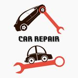 Reparo do carro Foto de Stock
