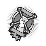 Reparo do logotipo dos veículos motorizados ilustração royalty free