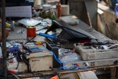 Reparo dos dispositivos eletrónicos Foto de Stock Royalty Free