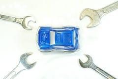Reparo e manutenção do serviço do carro Fotos de Stock Royalty Free