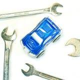 Reparo e manutenção do serviço do carro Fotografia de Stock