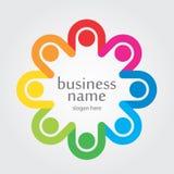 Logotipo espectral da faixa Imagens de Stock Royalty Free