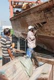 Reparos do barco nos UAE Imagens de Stock
