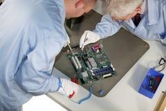 Reparos do cartão-matriz Fotografia de Stock