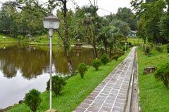Reparti lago, Shillong Fotografia Stock