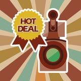 Reparto caliente Imágenes de archivo libres de regalías