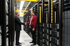 Reparto de Datacenter Fotos de archivo