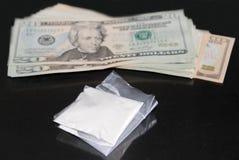 Reparto de la cocaína Fotografía de archivo