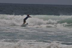 Reparto di chris del surfista fotografia stock