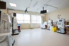 Reparto di dialisi in ospedale Immagini Stock