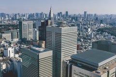 Reparto di Shinjuku immagine stock