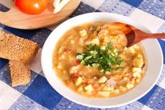Repas argentin national de lentille Photographie stock libre de droits