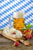 Repas bavarois photographie stock
