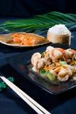 Repas chinois image libre de droits