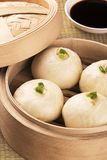 Repas chinois de baozi également connu sous le nom de faible soleil Photo libre de droits