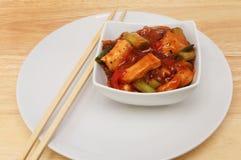 Repas chinois sur une table photographie stock libre de droits
