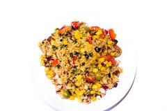 Repas cous cous végétal. Photos stock